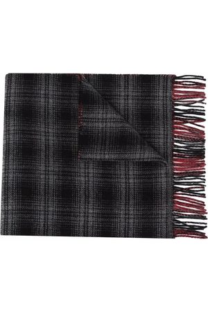 Woolrich Double wool check scarf