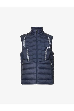 HUGO BOSS Quilted shell-down gilet