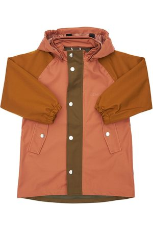 Liewood Color Block Soft Recycled Nylon Raincoat