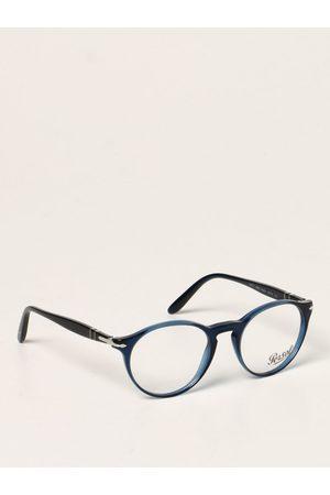Persol Glasses Men colour Cobalt